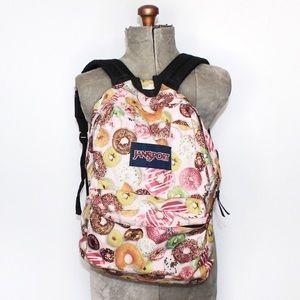 Jansport Donut Print Backpack
